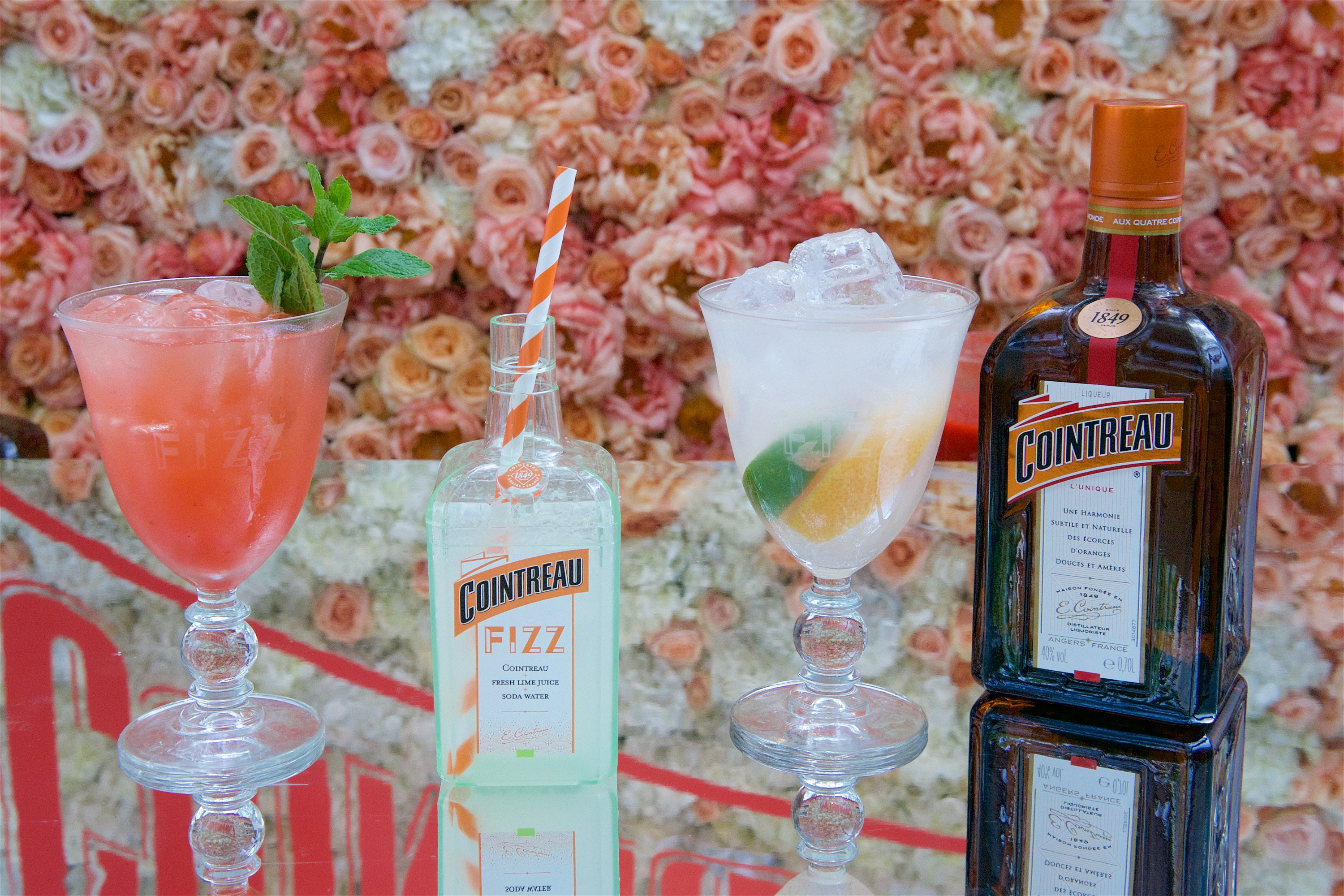 Glamour awards with cointreau fizz clementine for Cointreau mixed drinks